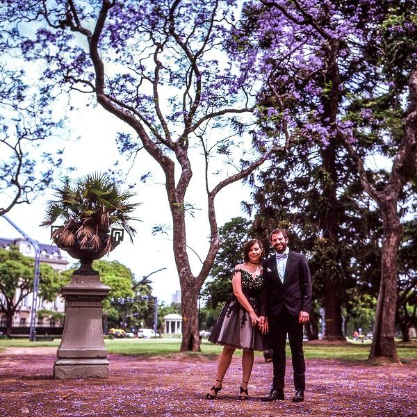 Alexandra et Juan Ignacio