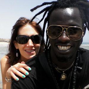 Cindy et Mbaye