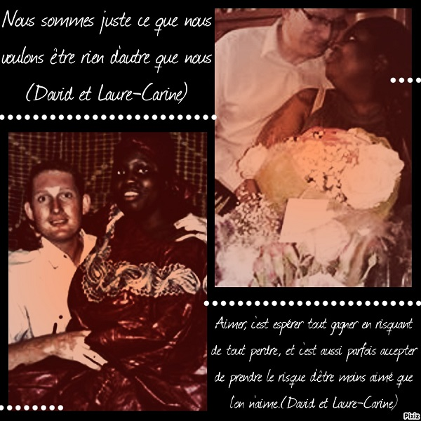 Laure-Carine et David