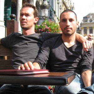 Romain et Jeverson